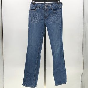 New York & Company low rise bootcut denim jeans 6